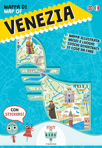 Map Of Italy For Kids.Italy For Kids The Map Of Venice Locanda Ca Lucrezia